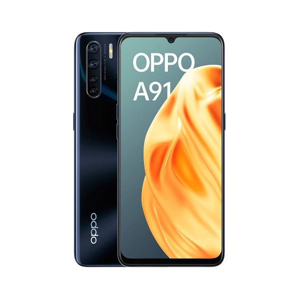 Oppo a91 2020 lightening black móvil 4g dual sim 6.4'' amoled fhd+/8core/128gb/8gb ram/48+8+2+2mp/16mp