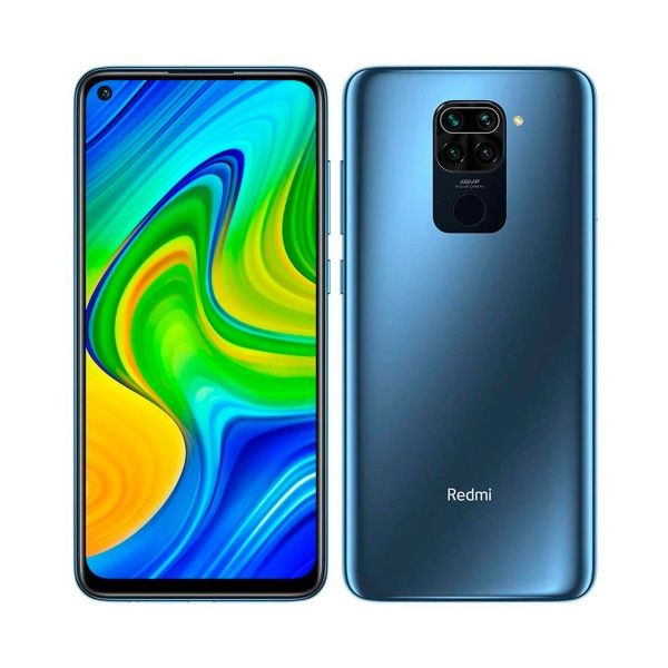 Xiaomi redmi note 9 gris medianoche móvil 4g dual sim 6.53'' ips fhd+ octacore 128gb 4gb ram quadcam 48mp selfies 13mp