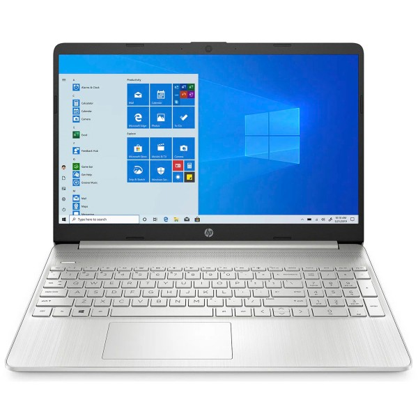Hp envy x360 15s-eq1000 blanco portátil 15.6'' hd athlon-3050u 256gb ssd 8gb ram windows 10 home