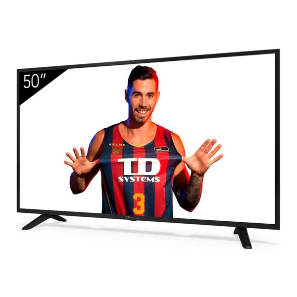 Td systems k50dlj11us televisor 50'' lcd direct led 4k hdmi usb ci+ dolby digital plus