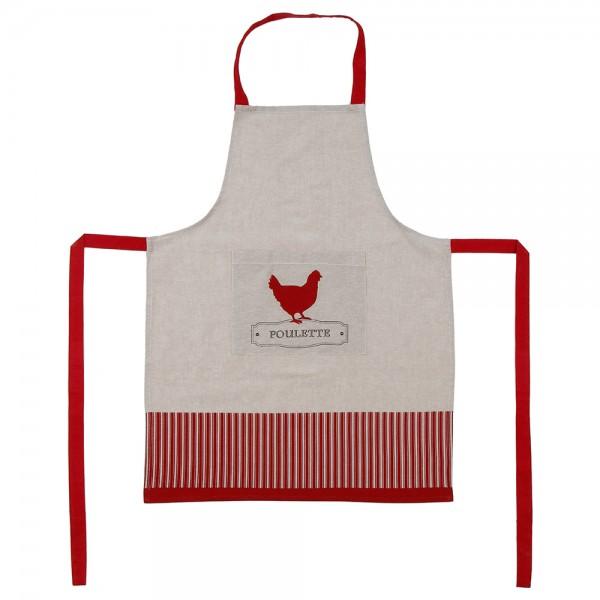 Delantal gourmet mod.poulette 60x80cm