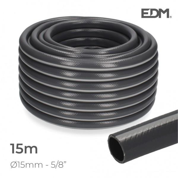 "Manguera jardin ecolight ø inter.15mm, ø exter. 20mm (5/8"") rollo 15m edm"