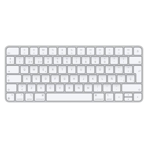 Apple magic keyboard teclado inalámbrico bluetooth idioma español